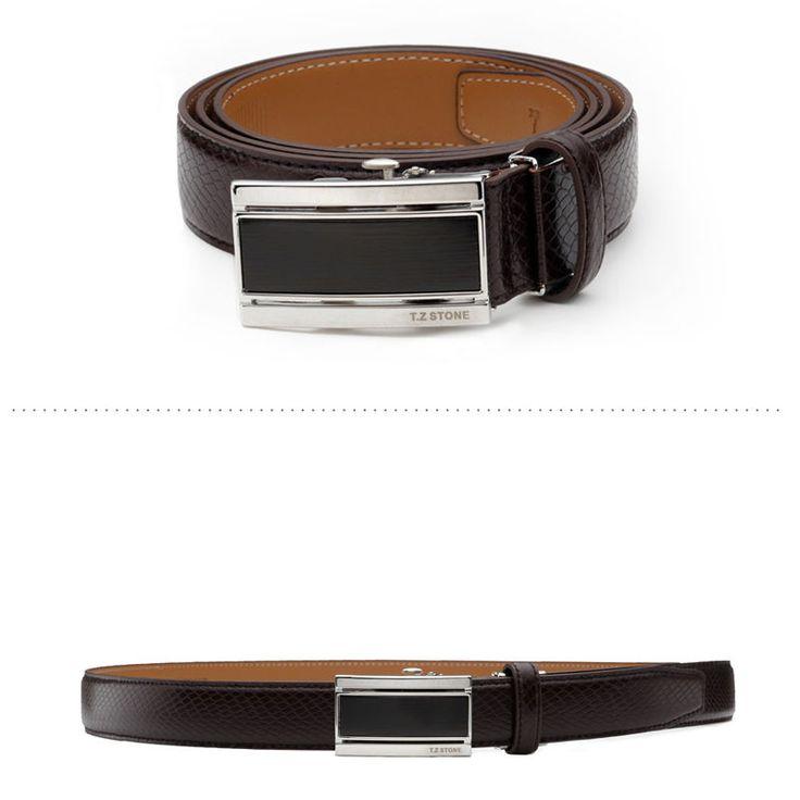 T.Z STONE Belts Italy Leather Casual Men's Waist New Belt Accessories TZ1D304DB #TZStone
