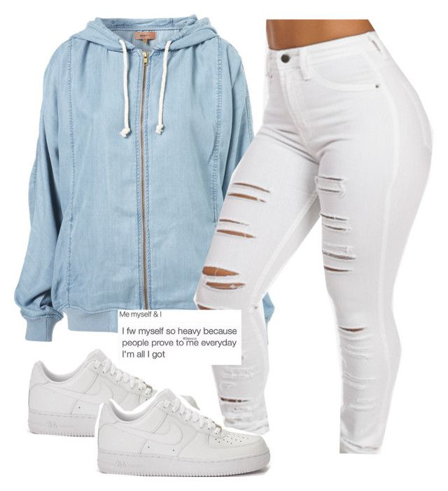 """the motto // drake"" by trapsoul ❤ liked on Polyvore featuring NIKE"