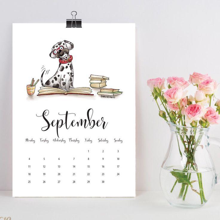 I Couldnt Resist Printing One Dog Calendar For Myself