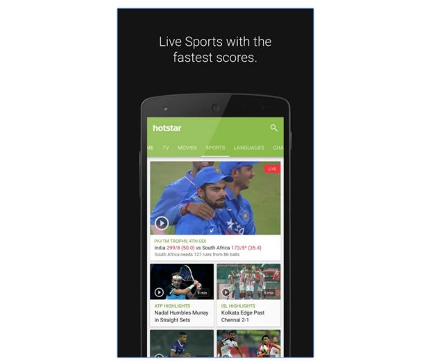 7 Apps To Watch Live Cricket Streaming & Live Scores On Your Smartphones/Tablets [With Video]
