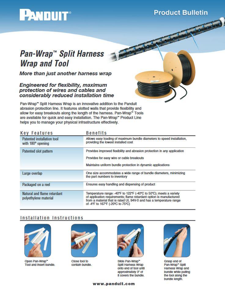 "#Panduit Pan-Wrap™ Split Harness Wrap and Tool ""WW-WACB17"" 06.2015 https://media.distributordatasolutions.com/panduit/2016q2/de21d0fa14da655835f1091285adf88255c935b0.pdf"