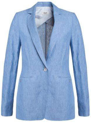Creëer een boyish look met deze lange linnen blazer! #Boyish #Look