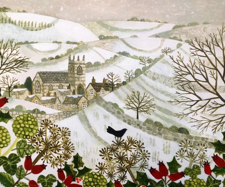 Village in the Valley by Vanessa Bowman.