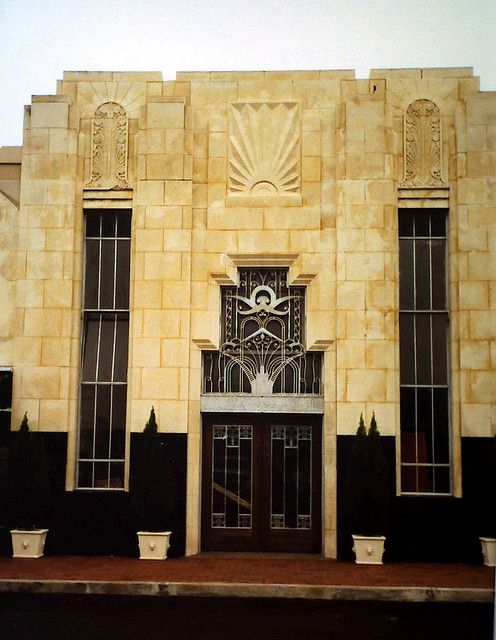 #ArtDeco | Superb. ---> Kyle Building, 215 Orleans St. in downtown Beaumont, Texas.