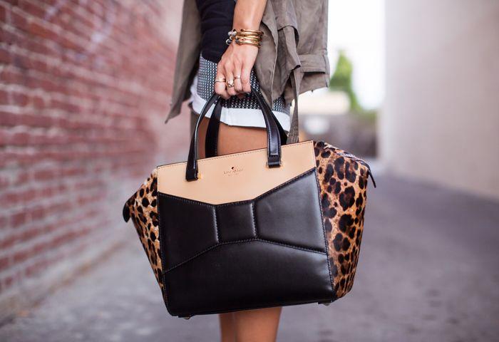 Favorite fall bag: Kate Spade Beau Bag