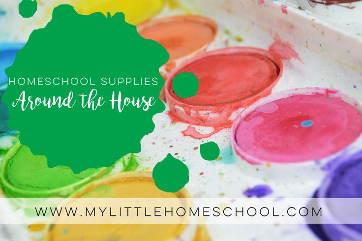 Homeschool supplies for teaching writing to special needs kids can be found around the house. You don't need to spend a fortune to have a good activity!