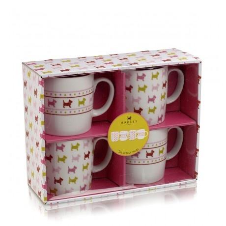 Euston, X4 Mug Set Mmmmm a lovely cup of tea on Christmas morning