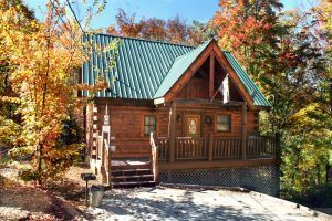 The Autumn Breeze cabin in the Smokies.