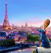 Paris Plage vous donne rendez-vous le samedi 16 août à 20h, sur le parvis de l'Hôtel de Ville, pour la projection en plein air du film d'animation Ratatouille ! #cinema #ratatouille #paris