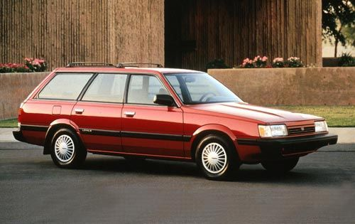 6th car. 1983 Suburu Wagon. for my growing family