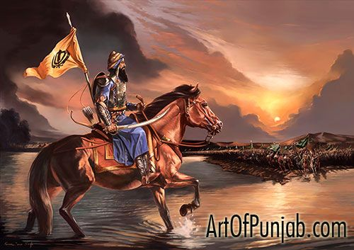 Banda Singh Bahadur (born Lachman Dev) (27 October 1670, Rājaurī–9 June 1716, Delhi): Sikh military commander.  Left home to become an ascetic. In September 1708 he was visited by, and became a disciple of, Guru Gobind Singh, who gave him the new name of Banda Singh Bahadur. He assembled a fighting force and led the struggle against the Mughal Empire. Sacked  the Mughal provincial capital, Samana, in November 1709. Captured by the Mughals and tortured to death in 1716.