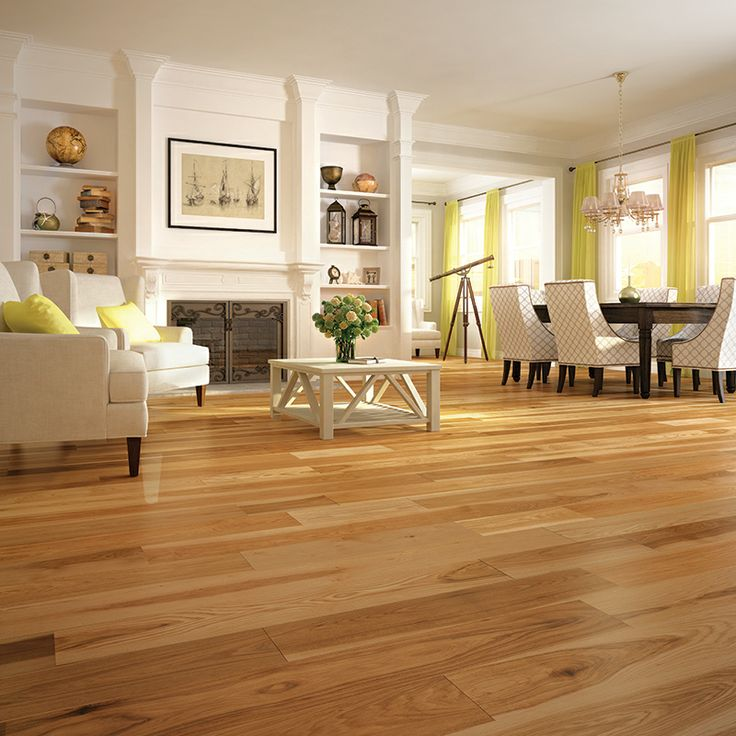 Prefinished hardwood flooring Plancher de bois franc pré-verni Mercier Wood Flooring, Hickory, Natural, Authentic. www.mercier-wood-flooring.com