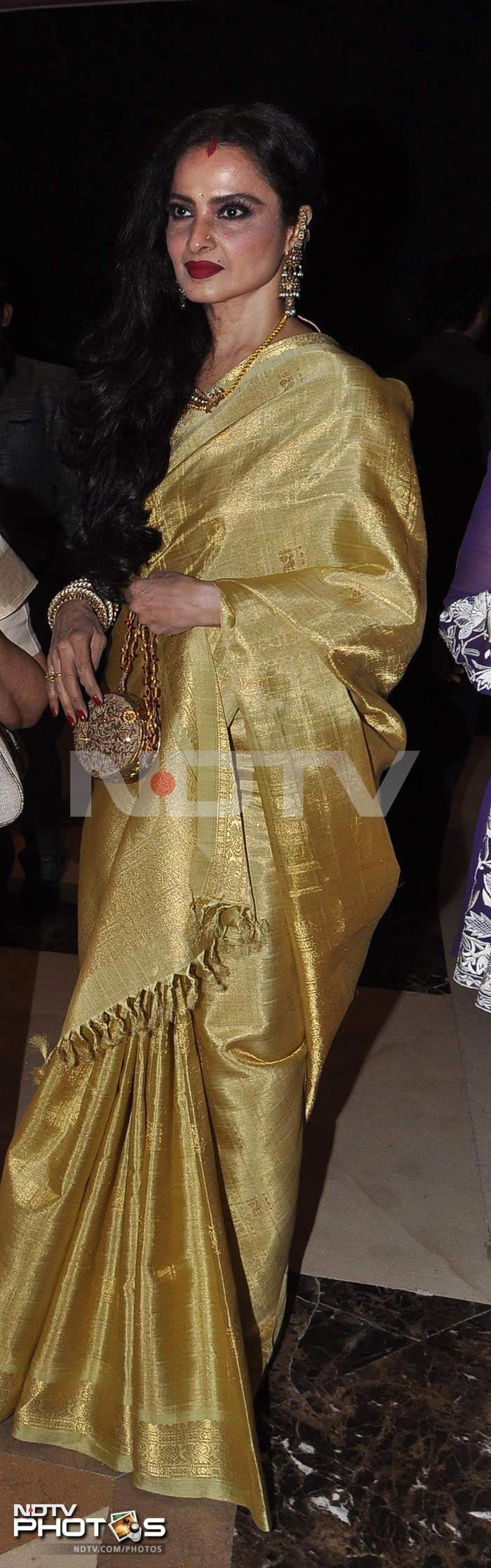 Rekha's saree *heart*