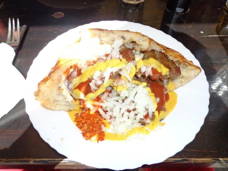 Banjalucki meatfingers - great Serbian food @ Restaurant Cica