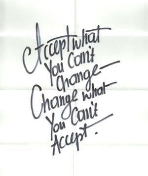 Accept it or Change it... www.fb.com/SoBeLiVeIT