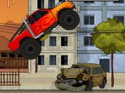 Monster Chaos Flash Game. Create chaos on the streets at great speed. Face moving obstacles and cool explosions. Play Fun Monster Trucks Games Online.