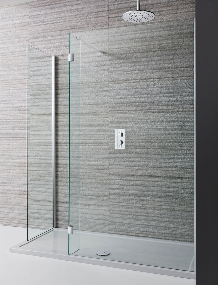 Design Double Sided Walk In Shower Enclosure in Frameless | Luxury bathrooms UK, Crosswater Holdings