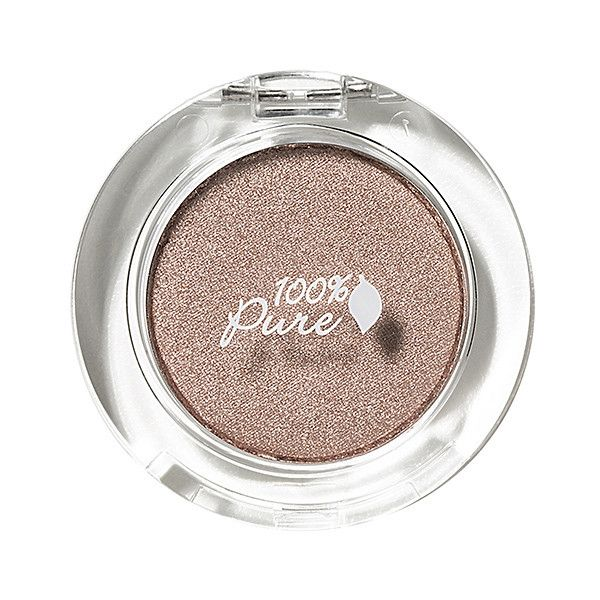 100% Pure Pressed Powder Eye Shadow ($20) ❤ liked on Polyvore featuring beauty products, makeup, eye makeup, eyeshadow, beauty, glossy eye makeup, shiny eyeshadow, 100 pure eyeshadow and glossy eyeshadow