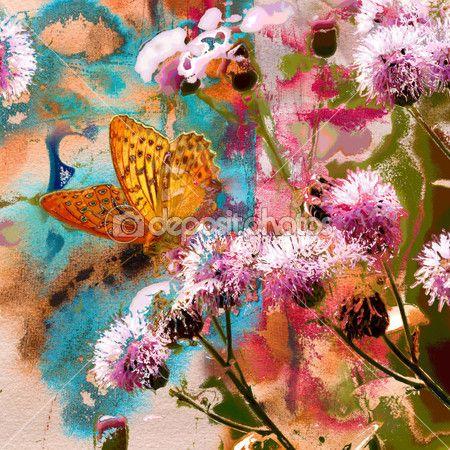 fleurs peinture et photo | ... Tchat direct Nos formules & tarifs Photos Vecteurs Éditoriaux Vidéos