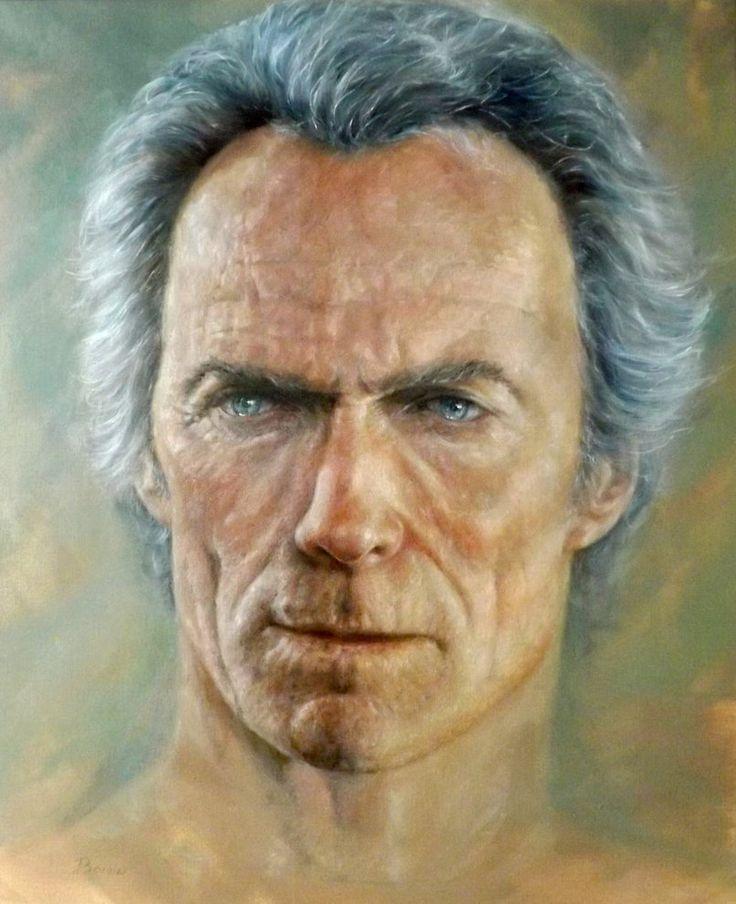 Clint Eastwood by jbillustration on DeviantArt