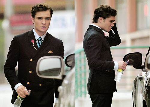 Lookin' good. Bass: Lapel Pin, But, Ed Westwick, Numbers One, Chuckbass, Edwestwick, People, Chuck Bass, Gossip Girls