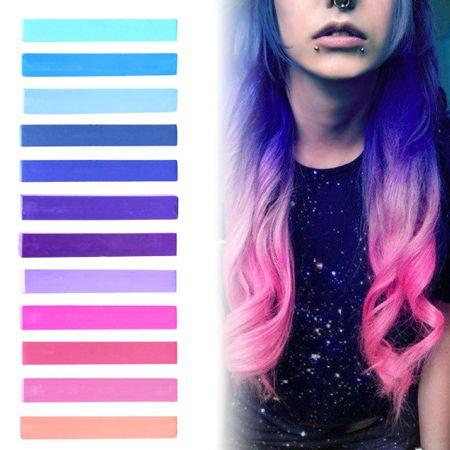 La nuova tendenza capelli: i galaxy hair, coloratissimi e stravaganti #galaxyhair