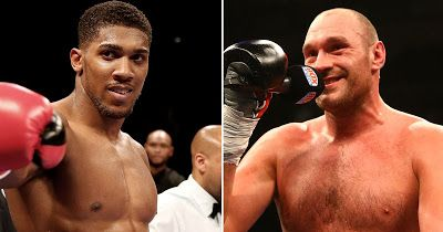 """Saturday night British born boxer with Nigerian descent Anthony Joshua defeated Wladimir Klitschko in the 11th round in a world heavyweight bout. After the match Joshua during his speech said:  'Tyson Fury where you at baby? I love fighting. Tyson Fury I know he's been talking I want to give 90000 a chance to see us I just want to fight.""""  Tyson responded swiftly on Twitter by tweeting:  'Challenge accepted. We will give the world the biggest fight in a 500 years. I will play with you. You…"""