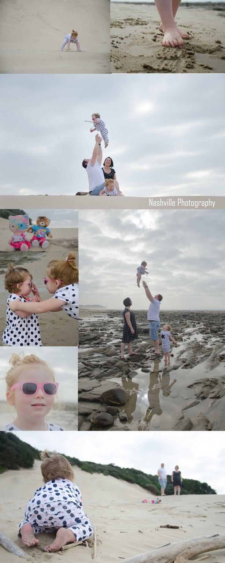 Family Photoshoot at the beach.