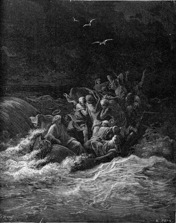 24. JESUS CALMS THE STORM AT SEA