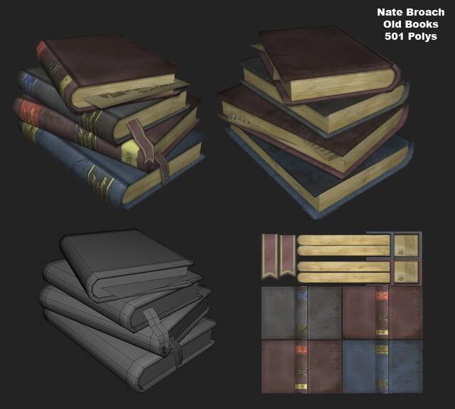 Nates props - Books