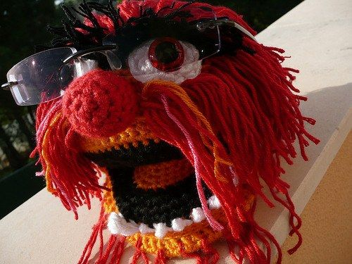 How To Crochet Muppet Eyeglass Holder | The WHOot