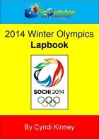 lapbook for 2014 Winter Olympics on sale $1 at currclick.com