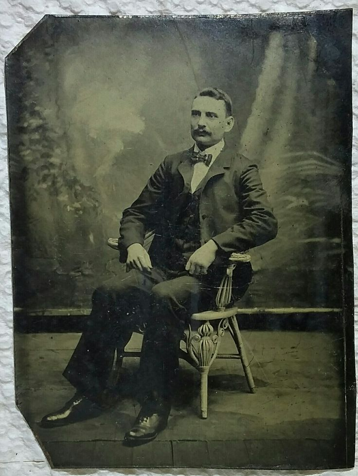 James Earp, Wyatts oldest full brother, present in Tombstone when the famous fight broke out, but rumor has him eating lunch at the time, completely unaware of what was about to happen! Original image from the collection of P. W. Butler.