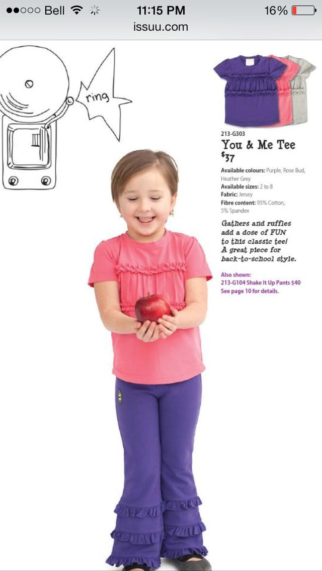 You and Me Tee, Size 4, Rosebud