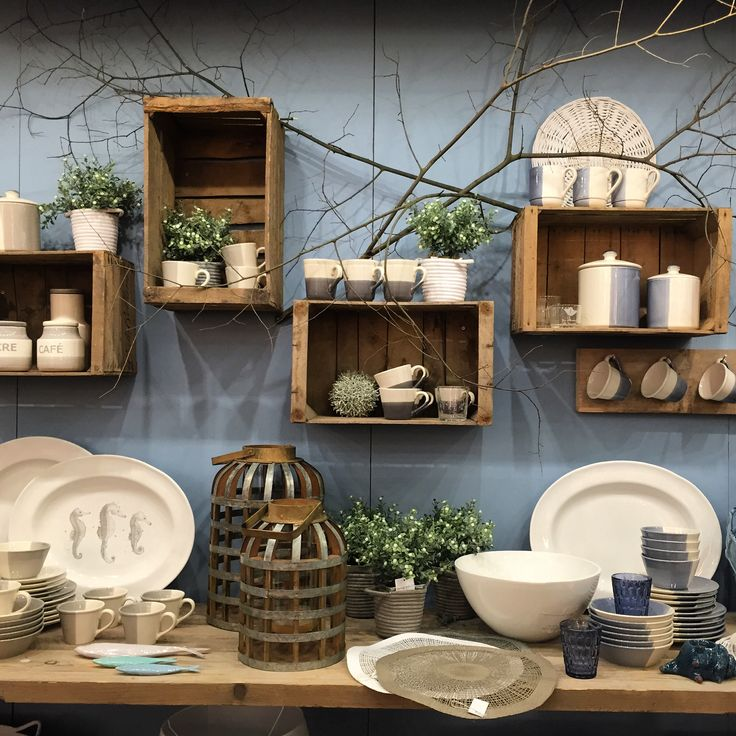 textured wooden boxes on a beautiful blue backdrop