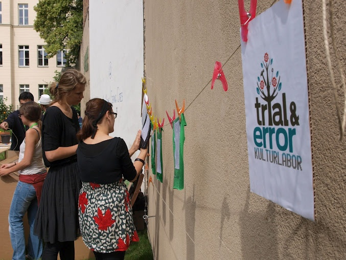 Kulturlabor Trial & Error is a Berlin based, non profit organization, working with crafts, D.I.Y. culture, sustainability, arts and media.