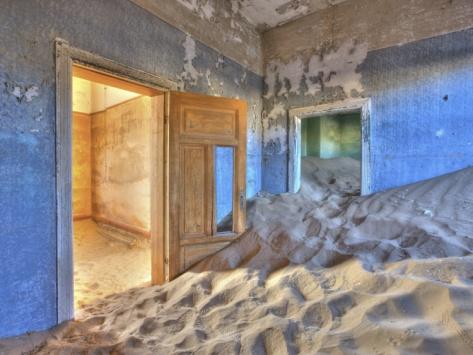 Kolmanskuppe Ghost Town, Luderitz, Namibia, Africa