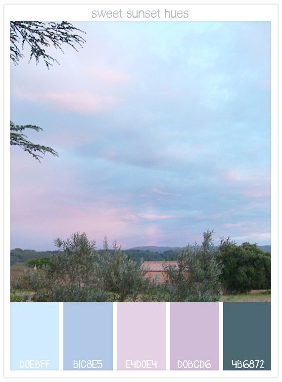Sweet Sunset Hues - A Provençal Sunset