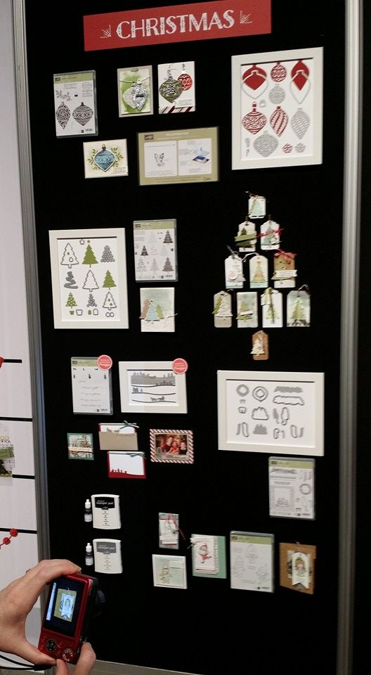 Display Boards, Convention 2015 #stampinup #InspireCreateShare | New Christmas products coming out in Stampin' Up! Holiday Catalogue September 2015