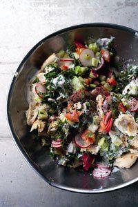 Fattoush: Fattoush Recipe, Middle Eastern, Naamas, Food, Fattoush ...