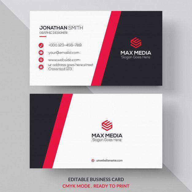 Modern Professional Business Card Design Business Card Ideas Business Card Design Creative Printing Business Cards