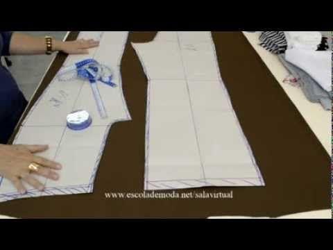 Calça em Malha - Vídeo grátis - YouTube
