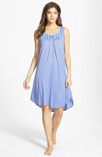Eileen West 'Night's Enchantment' Short Nightgown available at #Nordstrom