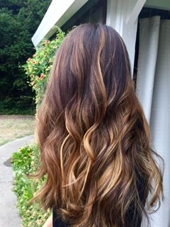 Gorgeous Ombre!  Hair by Julie Highlights Hair Studio