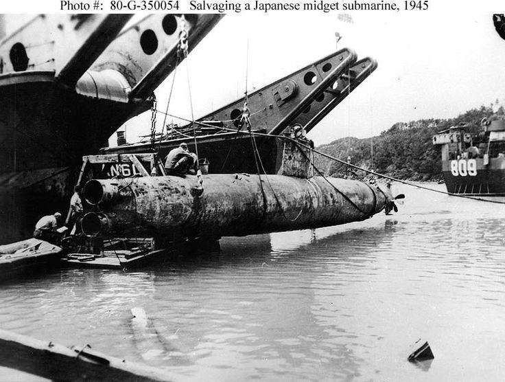 midget submarine, wreck