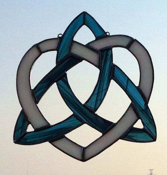Made-to-Order Celtic Knot Heart Triquetra