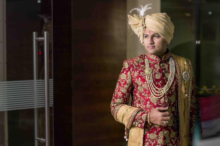 Handsome groom! Photo by taswir studio, Ahmedabad #weddingnet #wedding #india #indian #indianwedding #weddingdresses #mehendi #ceremony #realwedding #lehengacholi #choli #lehengaweddin#weddingsaree #indianweddingoutfits #outfits #backdrops #groom #wear #groomwear #sherwani #groomsmen #bridesmaids #prewedding #photoshoot #photoset #details #sweet #cute #gorgeous #fabulous #jewels #rings #lehnga