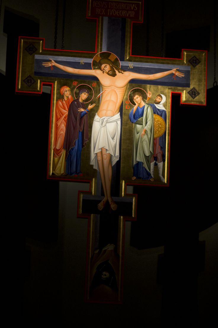 ikona Krzyża z dominikańskiego kościoła św. Jacka w Rzeszowie  #ikona #krzyż #cross #dominikanie #rzeszów