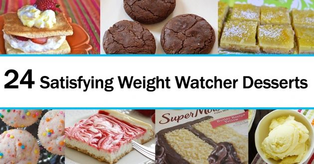 24 Satisfying Weight Watcher Desserts