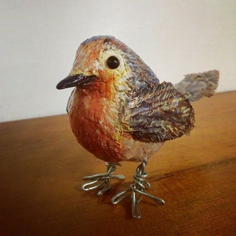 Little Robin Red by ElspethRose.com